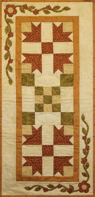 Harvest Table Runner Pattern