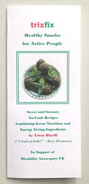 New Energy Ball Recipe Book and Competition Winner