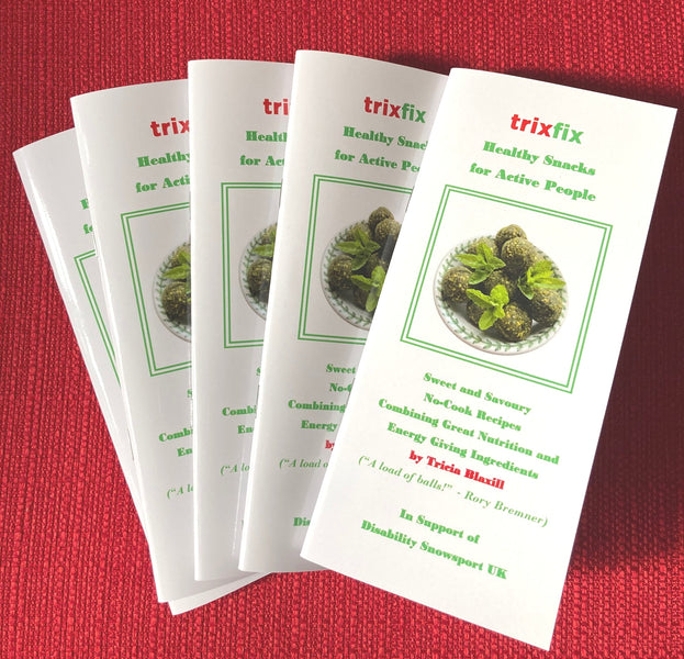 trixfix Energy Ball Recipe Book - Now Available