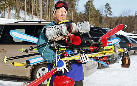 Tired of lugging your ski gear around? You are not alone....