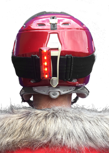 trixski LED Ski Helmet Light