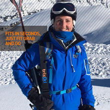 Load image into Gallery viewer, trixski Ski Carrier Black or Red (and XCountry)
