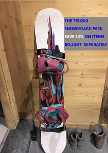 trixski Snowboard Pack (Black or Red)