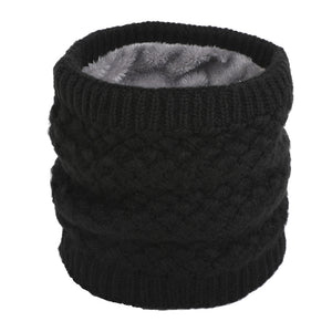 NEW Blackberry Knit, Fur Fleece Lined Neck Warmer
