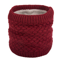 Load image into Gallery viewer, NEW Blackberry Knit, Fur Fleece Lined Neck Warmer (11 colours)