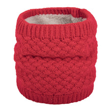 Load image into Gallery viewer, NEW Blackberry Knit, Fur Fleece Lined Neck Warmer