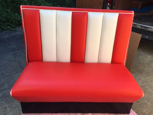 Red and White Commercially Graded Double Booth SECONDS