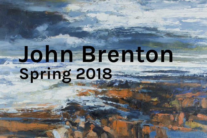 In the Studio / Spring headline artist John Brenton