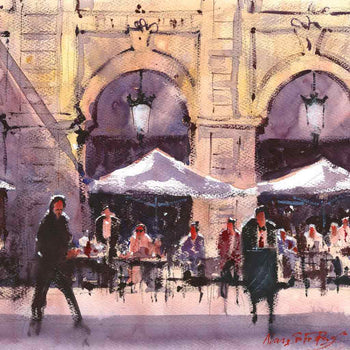 View and buy original watercolour paintings by Alan Smith Page at The Biscuit Factory