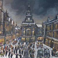 View and buy original paintings by Malcolm Teasdale at The Biscuit Factory, Newcastle upon Tyne