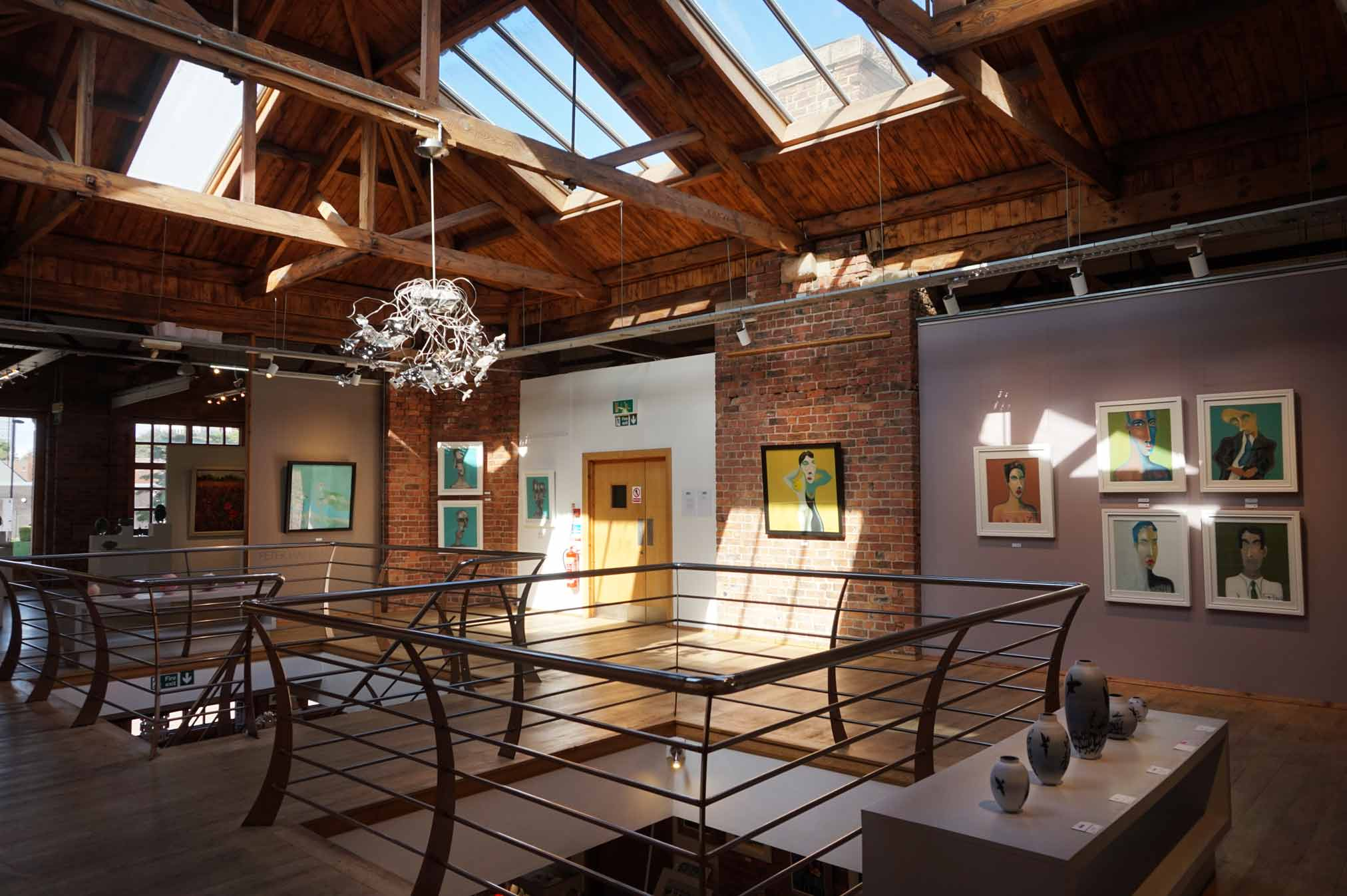 The Biscuit Factory gallery space