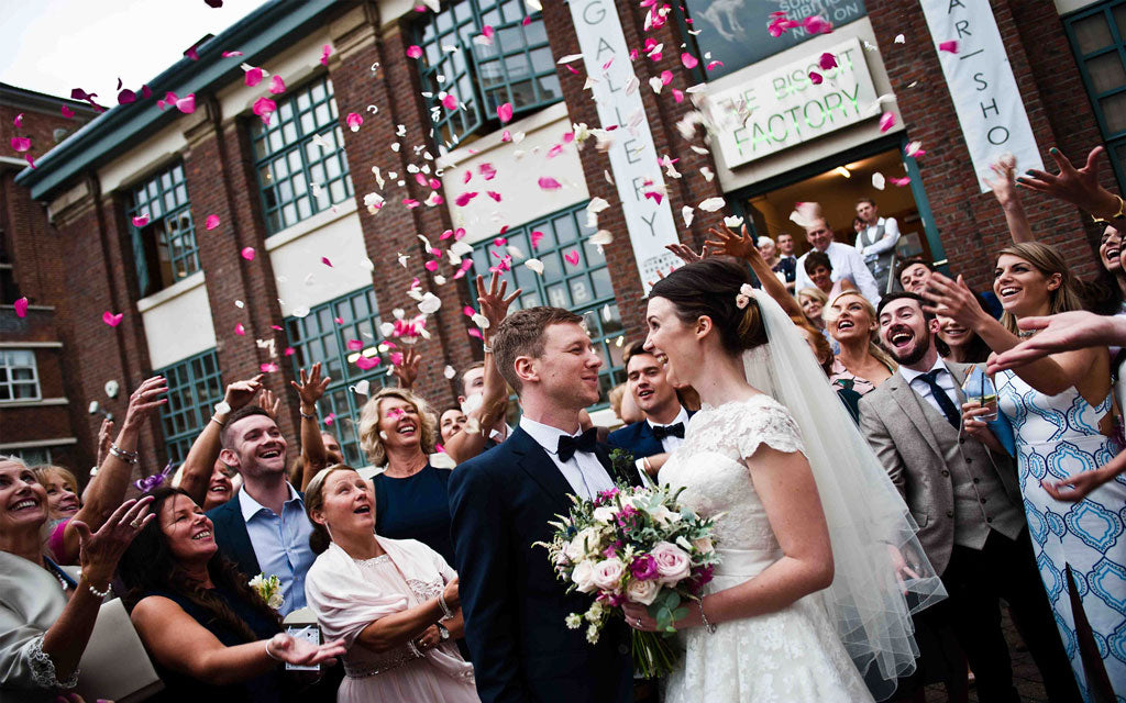 Venue hire and weddings at The Biscuit Factory