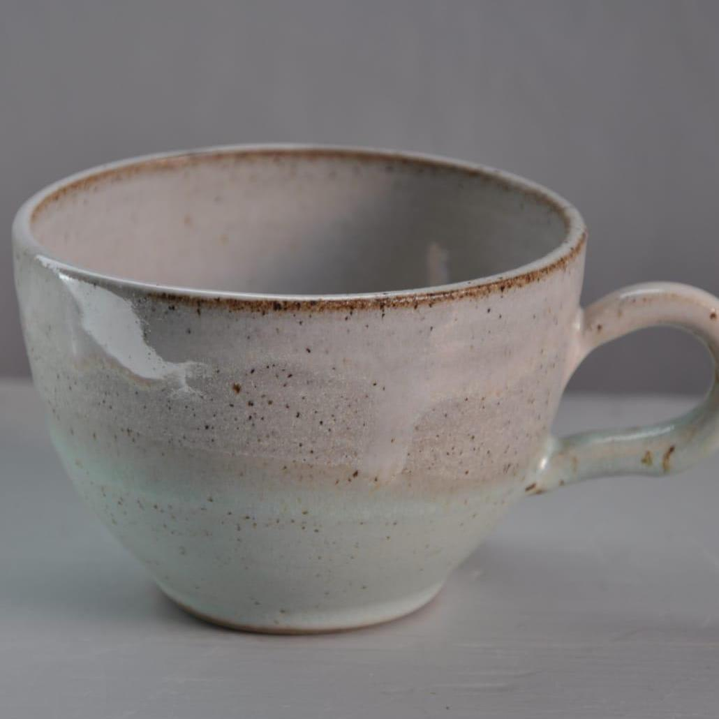 Blue wash cup