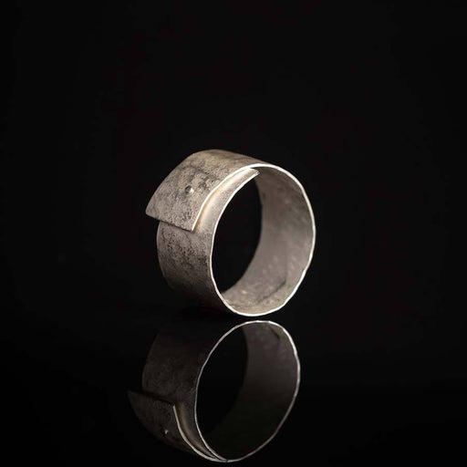 Buy 'Wrap Ring' handmade jewellery by Hilary Brown at The Biscuit Factory, Newcastle upon Tyne.