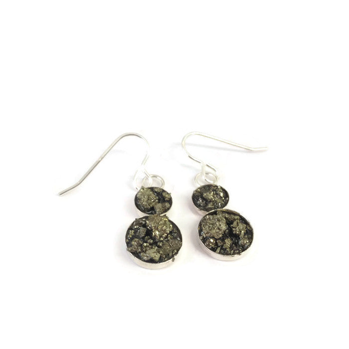 Buy 'Snowman Drop Earrings' original handmade jewellery by Abby Filer at The Biscuit Factory