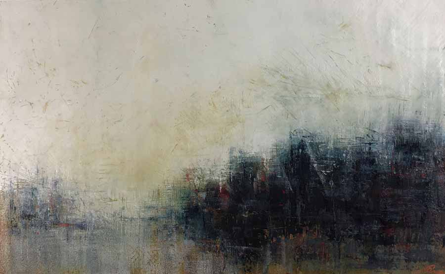 Buy 'Awakening', an original landscape oil painting by Paula Dunn at The Biscuit Factory.