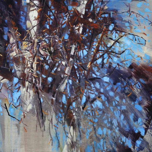 Buy 'Chaffinch, betula', an original painting by James Fotheringhame at The Biscuit Factory, Newcastle Upon Tyne.