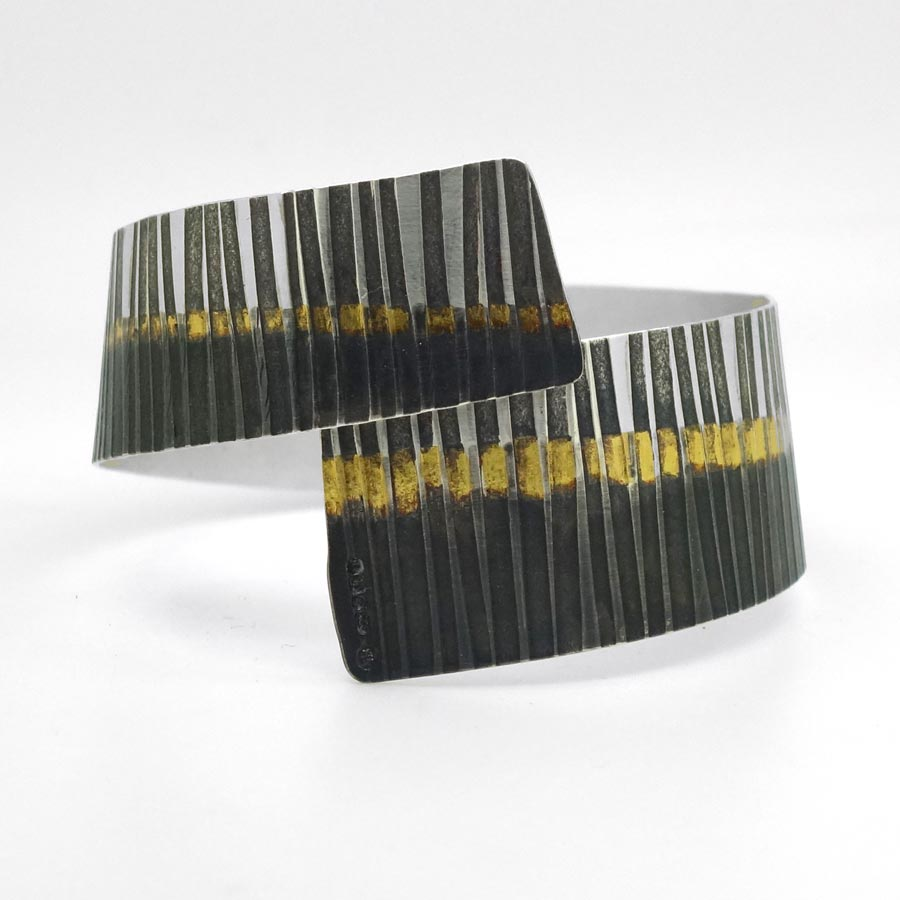 Buy 'Rhythm Cuff' handmade jewellery by Jessica Briggs at The Biscuit Factory.