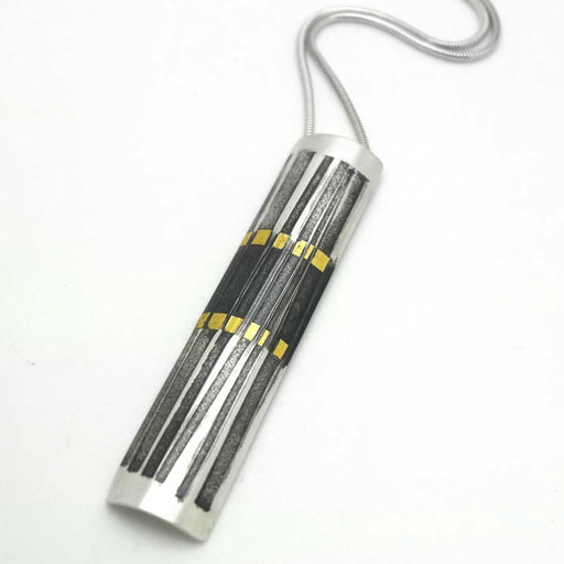 Buy 'Rhythm Stick Pendant' handmade jewellery by Jessica Briggs at The Biscuit Factory.