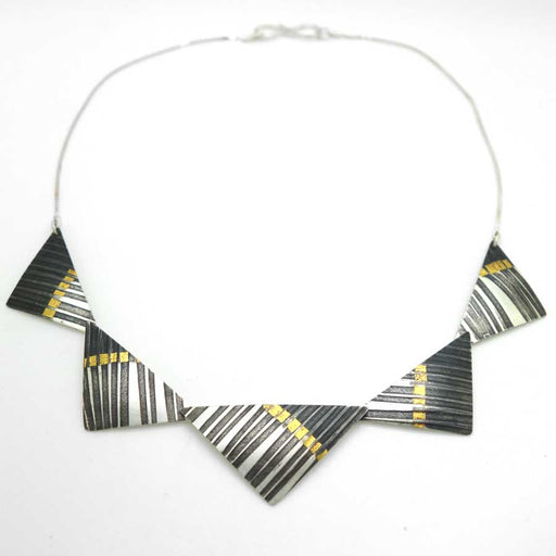 Buy 'Syncopated Necklace' handmade jewellery by Jessica Briggs at The Biscuit Factory.