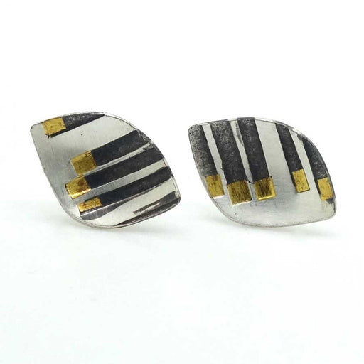 Buy 'Rhythm Studs' handmade jewellery by Jessica Briggs at The Biscuit Factory.