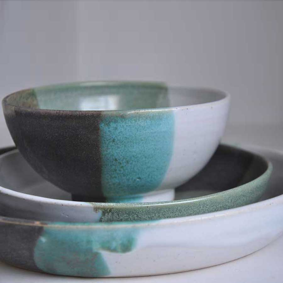 Buy 'Bowl' handmade ceramic homeware by 4 Wheel at The Biscuit Factory, Newcastle upon Tyne.