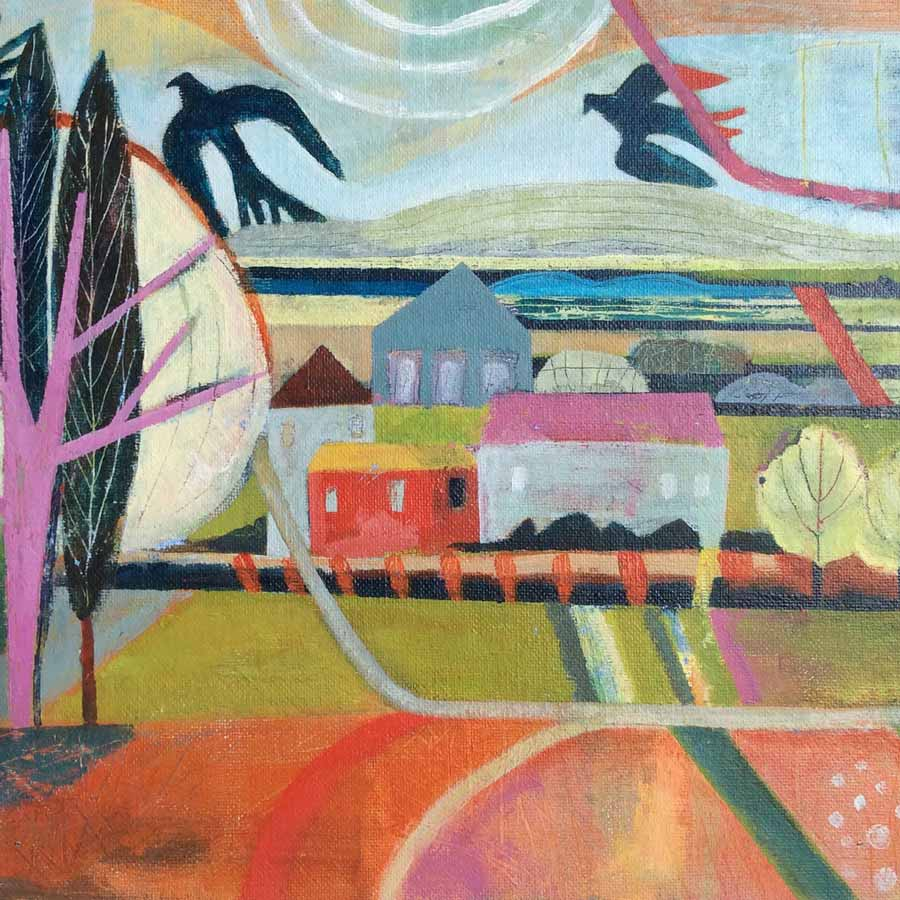 Buy 'Fields of Ambo', an original painting by Michael St. Clair at The Biscuit Factory.