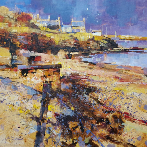 Original painting by Chris Forsey at The Biscuit Factory.
