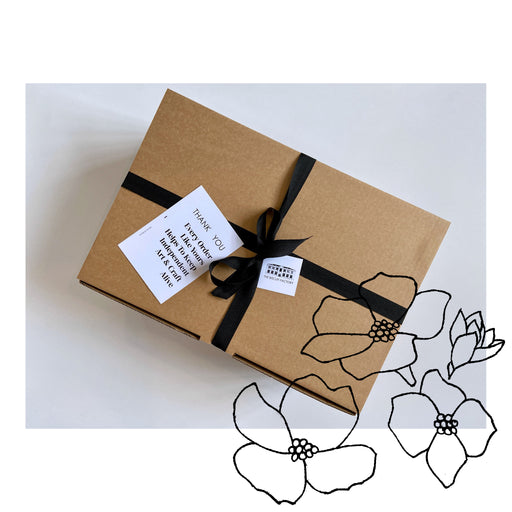 Buy exclusive curated gift boxes at The Biscuit Factory online - sustainable and unique gifts that support local artists. The Flora Makers Parcel is the perfect present for gardeners and nature-lovers alike.