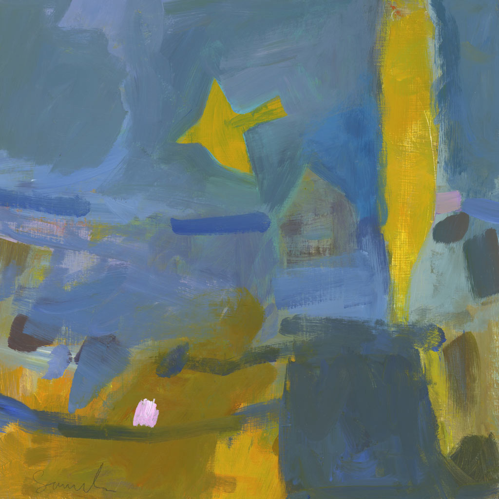 Buy 'Flying Through Sunlight', an original painting by Carol Sauderson at The Biscuit Factory