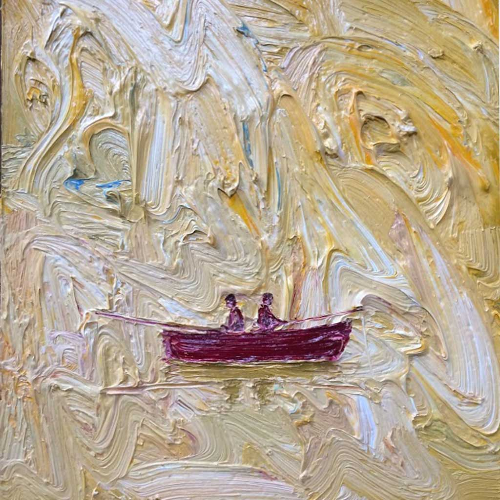 Buy 'Gone Fishing' an original oil painting by Stuart Buchanan at The Biscuit Factory