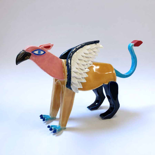 Buy 'Griffin', an original handmade ceramic by Tristan Lathey at The Biscuit Factory.