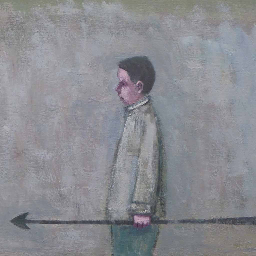 Buy 'Harpoon' an original oil painting by Stuart Buchanan at The Biscuit Factory