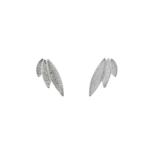Buy 'Icarus Studs (silver)' by jewellery designer Cara Tonkin at The Biscuit Factory, Newcastle Upon Tyne.