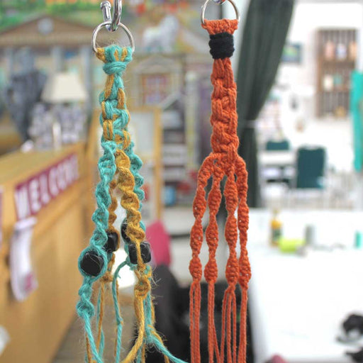 Join Kim Searle at The Biscuit Factory for a Macrame Plant Hangers workshop and get a head start on your spring decor.