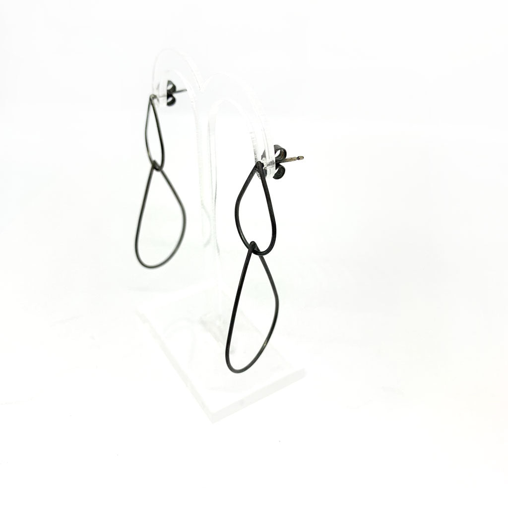 Buy 'Teardrop Earrings' handmade jewellery by Claire Lowe at The Biscuit Factory.