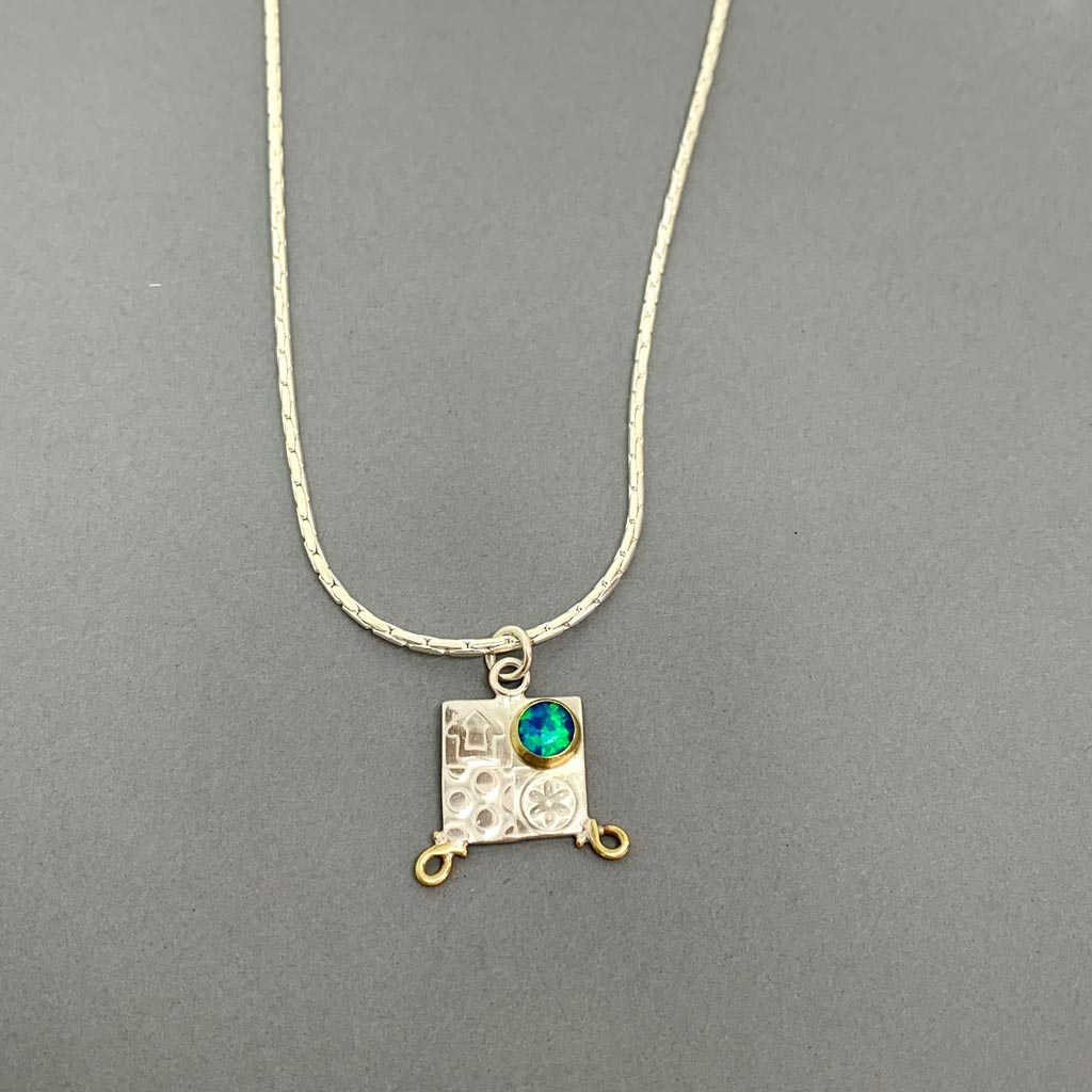 Buy 'Small Pendant', handmade jewellery by John and Dawn Field at The Biscuit Factory