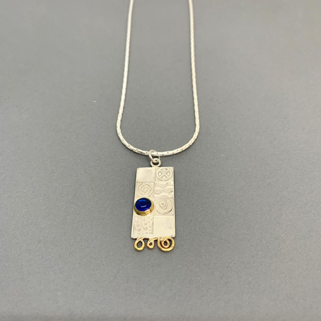 Buy 'Large Pendant', handmade jewellery by John and Dawn Field at The Biscuit Factory