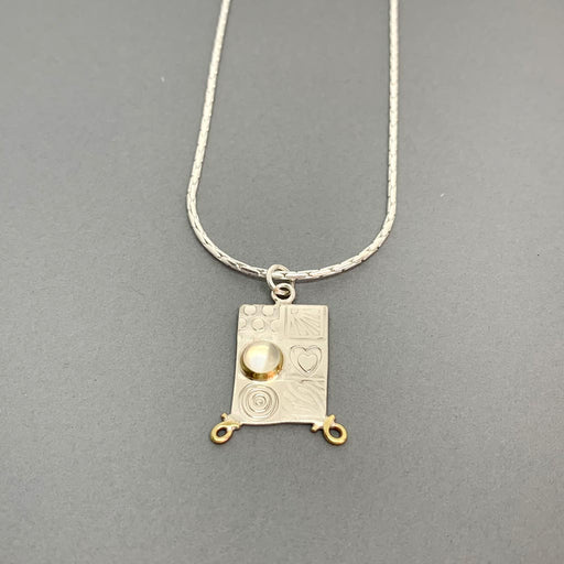 Buy 'Medium Pendant', handmade jewellery by John and Dawn Field at The Biscuit Factory
