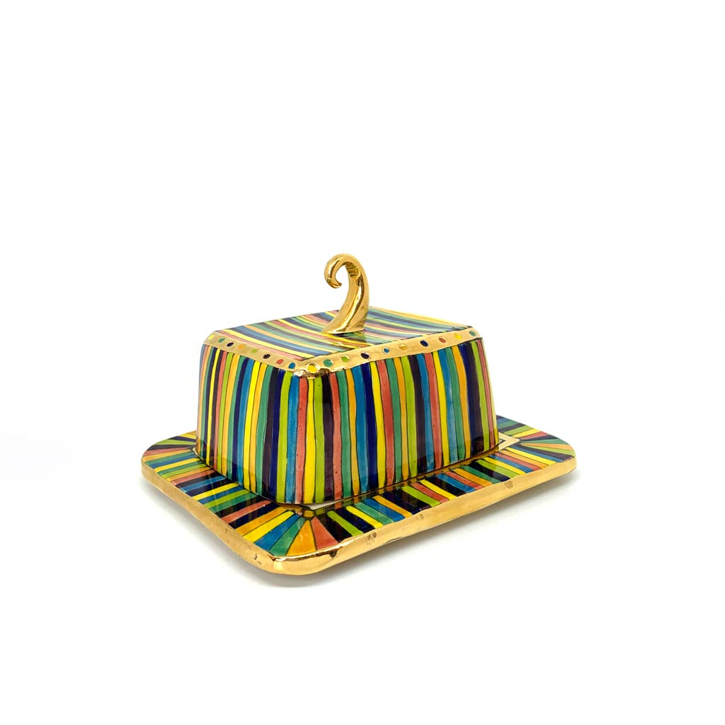 Buy 'Butter Dish' a handmade ceramic vessel by Julia Roxburgh at The Biscuit Factory
