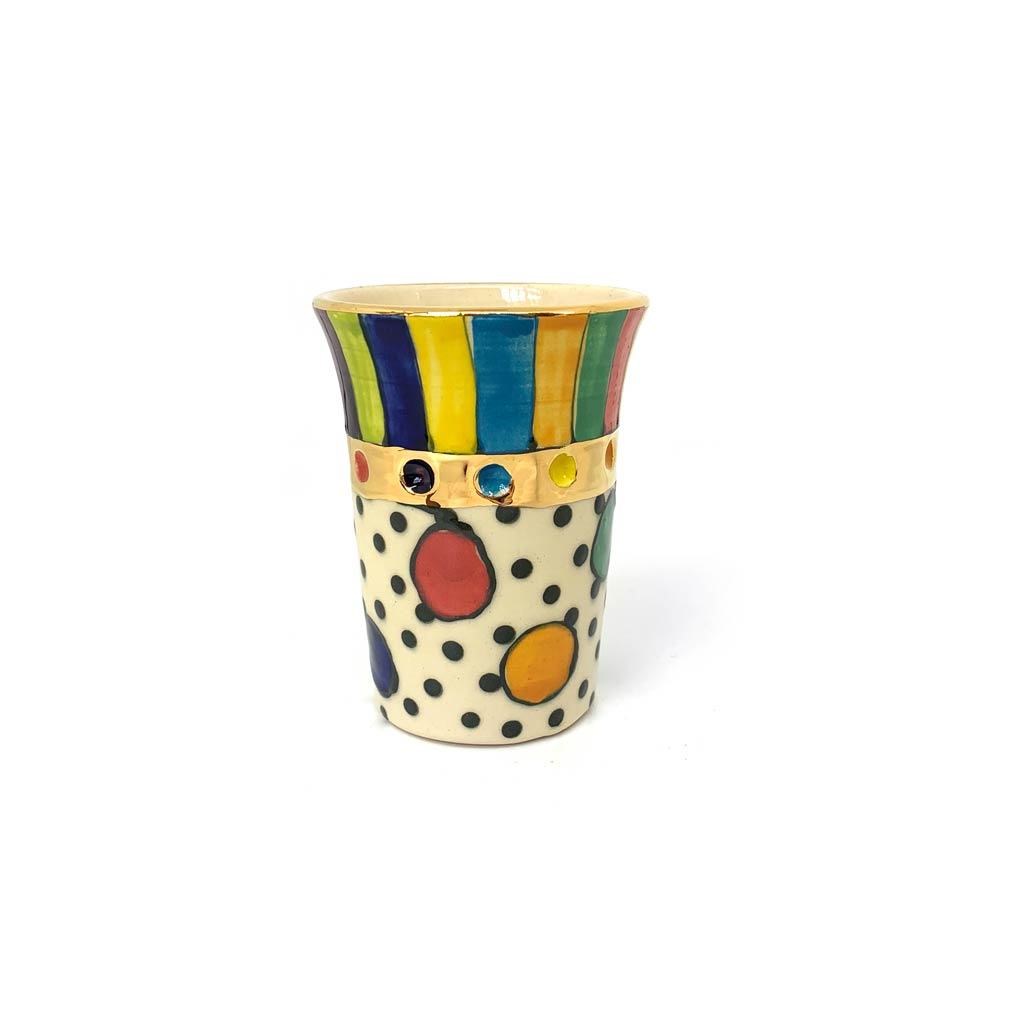 Buy 'Small Beaker' a Handmade ceramic vessel by Julia Roxburgh at The Biscuit Factory