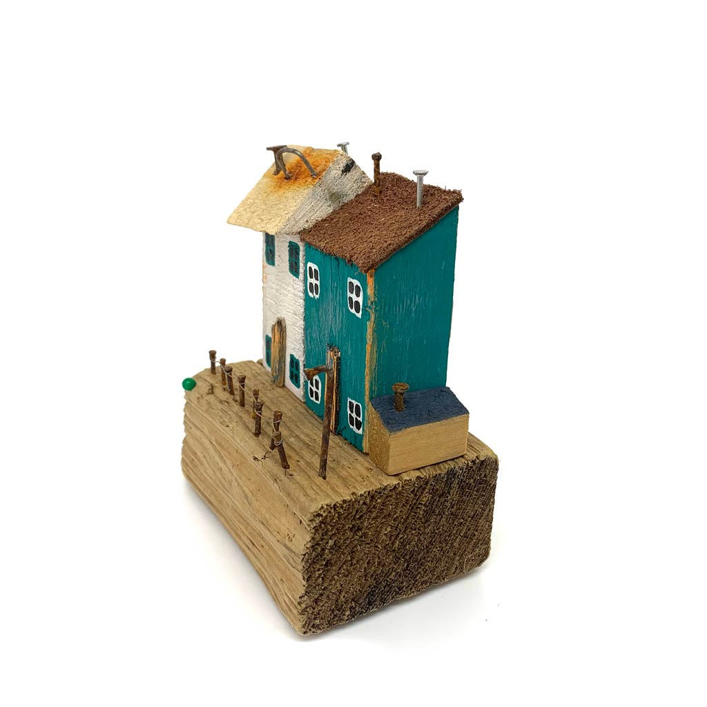 Buy 'Smoke House Quay' handmade sculpture by Tilly Shaw at The Biscuit Factory