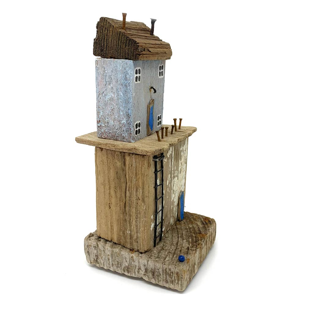 Buy 'Stacked Up II' handmade sculpture by Tilly Shaw at The Biscuit Factory