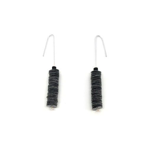 Buy 'Drop Earrings', handmade jewellery made with recycled plastic by Rachel Darbourne at The Biscuit Factory