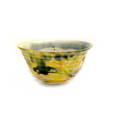 Buy 'Small Yellows Bowl' original handmade ceramics by George Ormerod at The Biscuit Factory