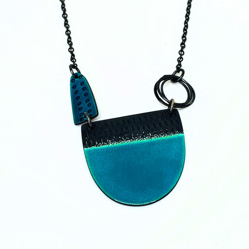 Buy 'Tidal Neckpiece' handmade jewellery by Caroline Finlay at The Biscuit Factory