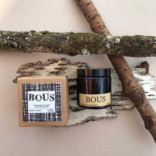 Buy hand-poured, natural soy wax candles by Bous at The Biscuit Factory, Newcastle upon Tyne.