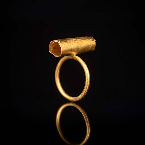 Buy 'Tube Ring' handmade jewellery by Hilary Brown at The Biscuit Factory, Newcastle upon Tyne.