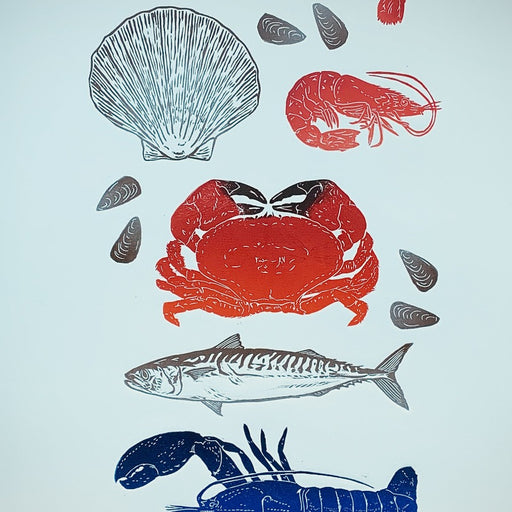 Image shows a cropped section of a print by Sarah Cemmick
