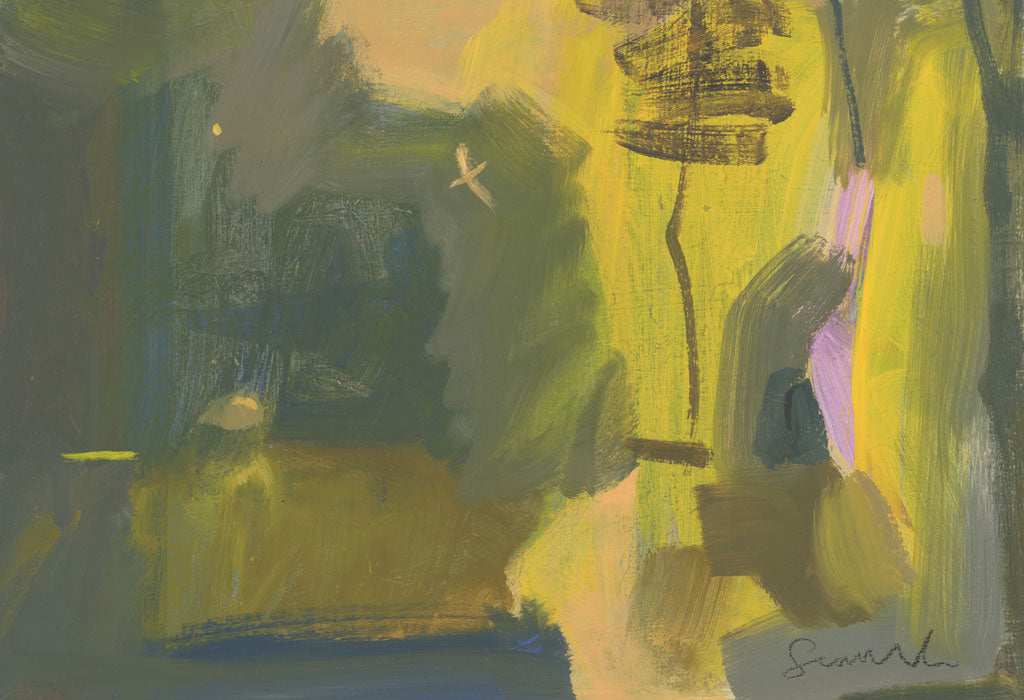 Buy 'Sunlight on the Path', original painting by Carol Saunderson at The Biscuit Factory